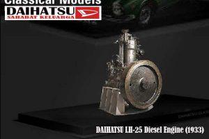 DAIHATSU LH-25 Diesel Engine (1933)