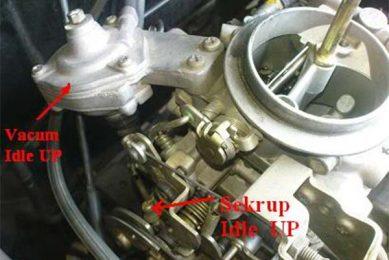 Sekrup idle pada karburator
